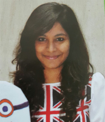 Priyaa Darshini AP Paremasivem, 4th Year Student