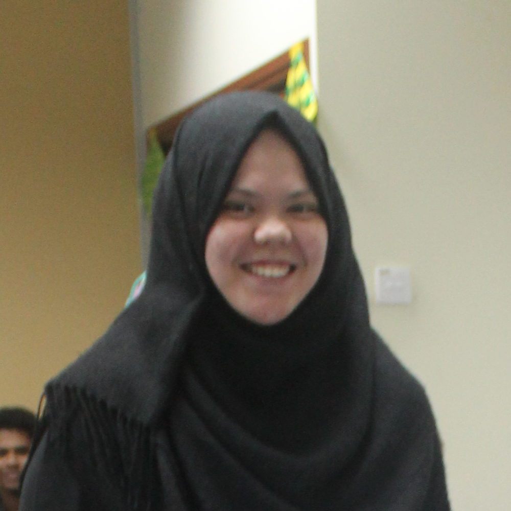 Diyana Sabrina, Year 2 Student, Bachelor of Psychology (Hons)