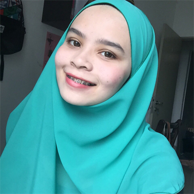 Hannah Binti Hafiz, Year 2 Student, Bachelor in Physiotherapy (Hons)