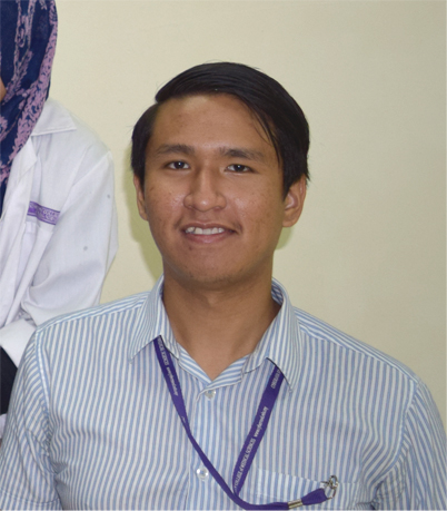 Oo Bok Leong, Year 2 Student, Bachelor in Physiotherapy (Hons)
