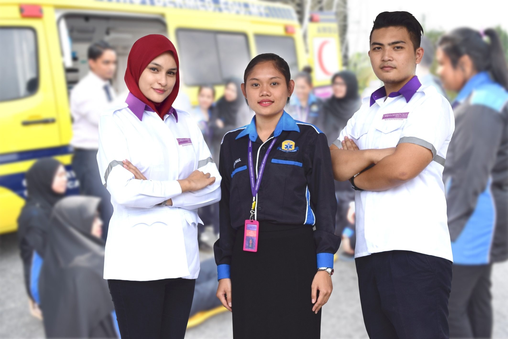 how to become a paramedic in malaysia